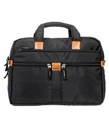 Wildmount New Black Polyester Office Bag