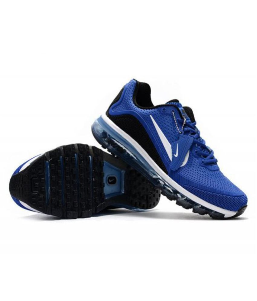 online store 22045 598c6 Nike AIRMAX 2018 Blue Training Shoes