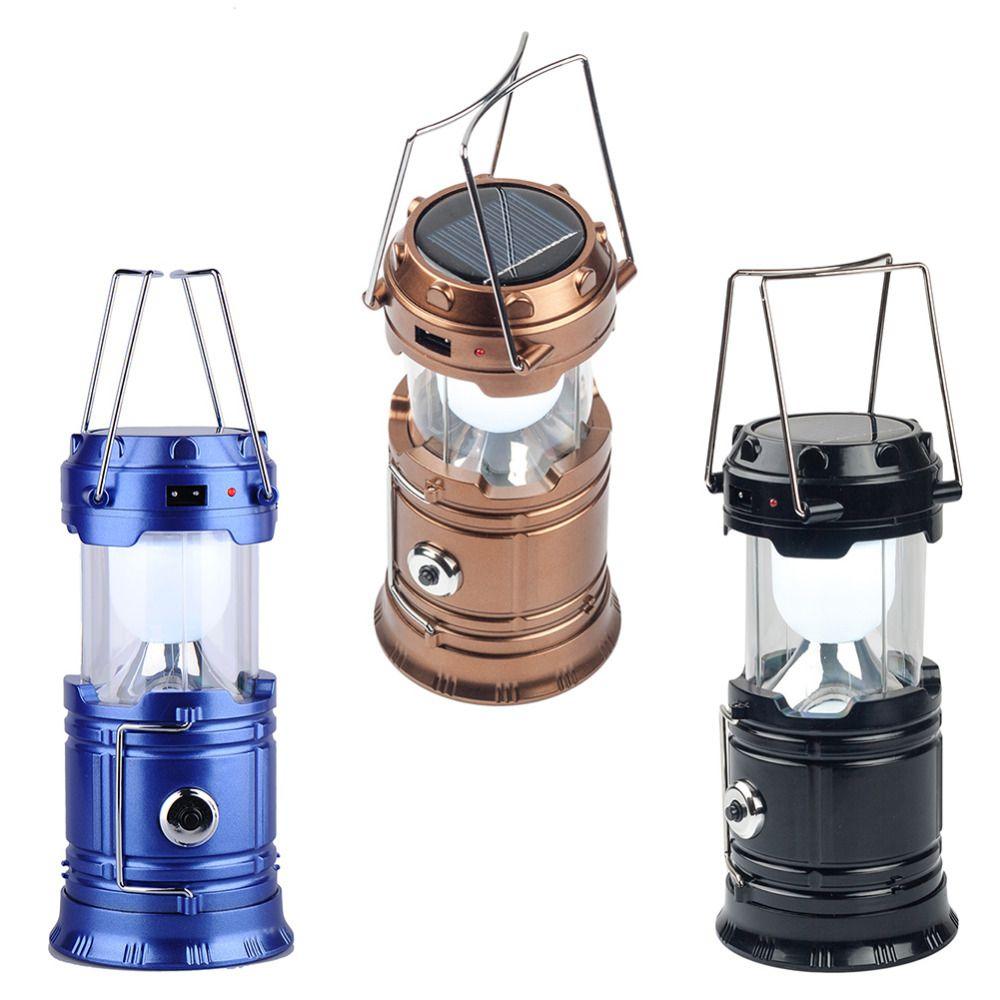 Techwich Led Solar Emergency Light Lantern Table Top