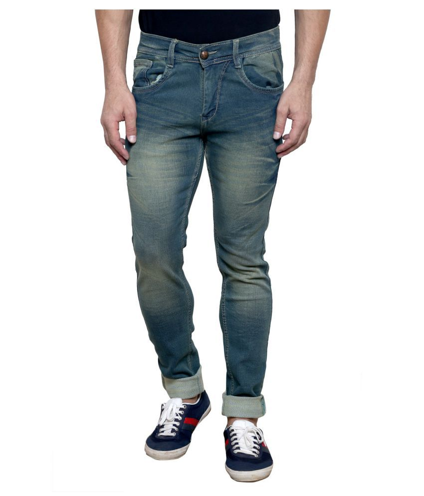 K-SAN Multicolored Slim Jeans