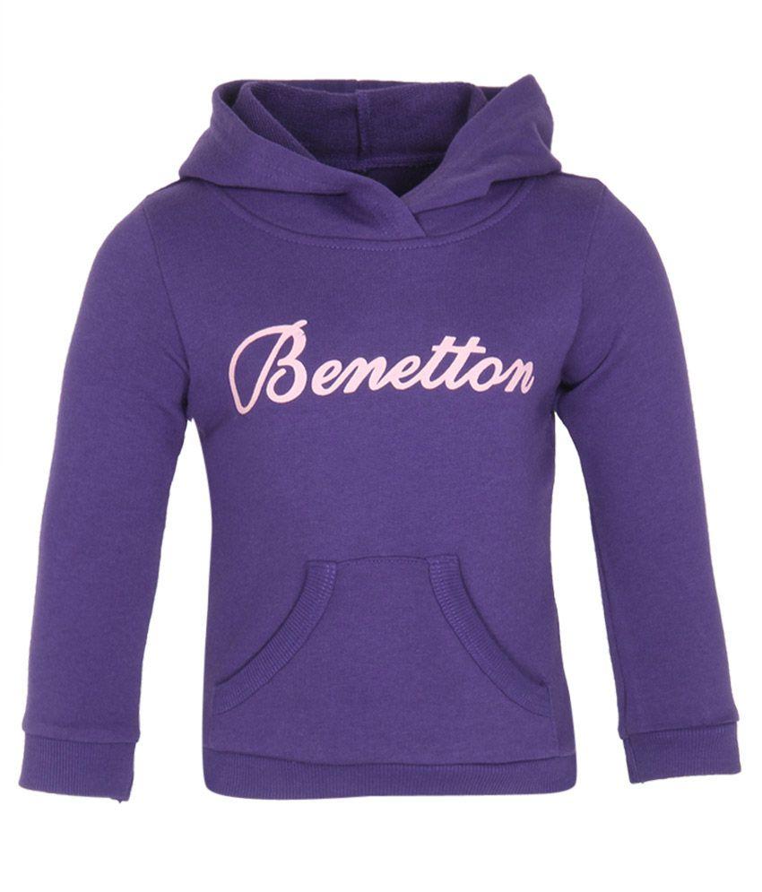 United Colors Of Benetton Blue Sweatshirts