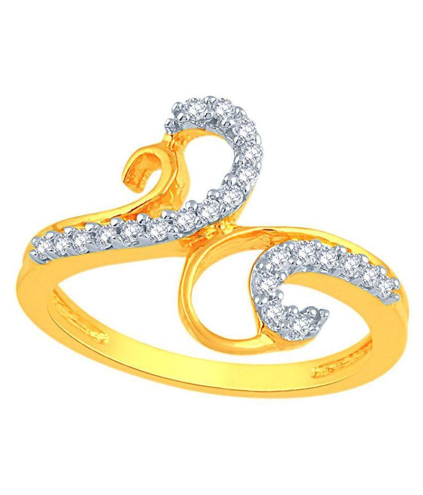 Asmi 18k Yellow Gold Ring