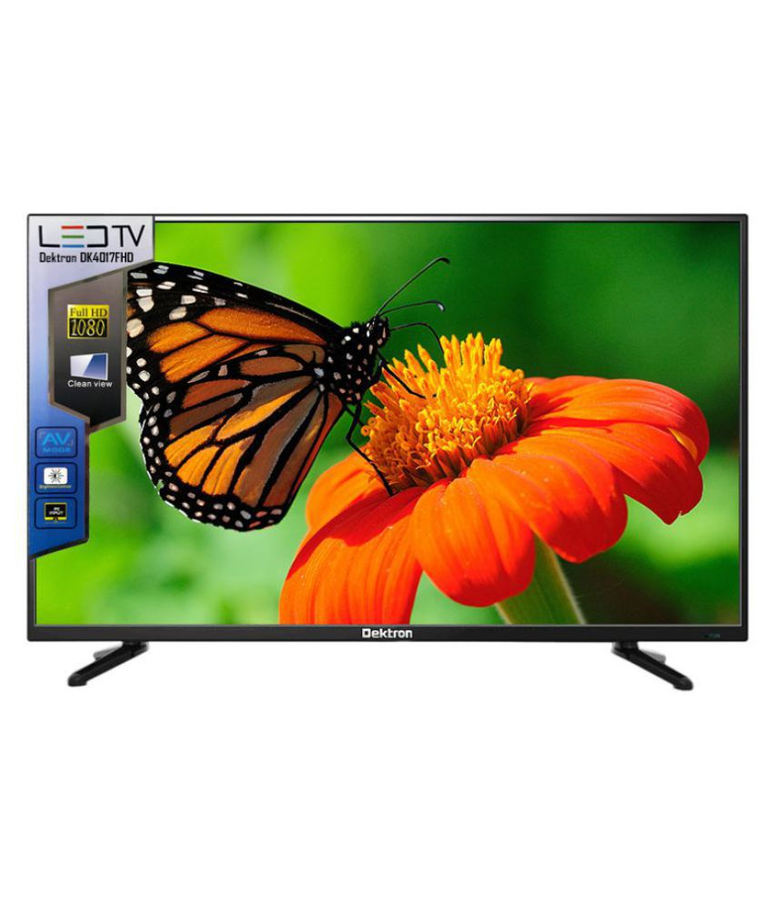 Dektron DK4017FHD 101.6 cm ( 40 ) Full HD (FHD) LED Television With 1+2 Year Extended Warranty