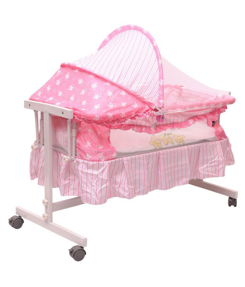 Toyhouse Baby Cradle with Swing Function