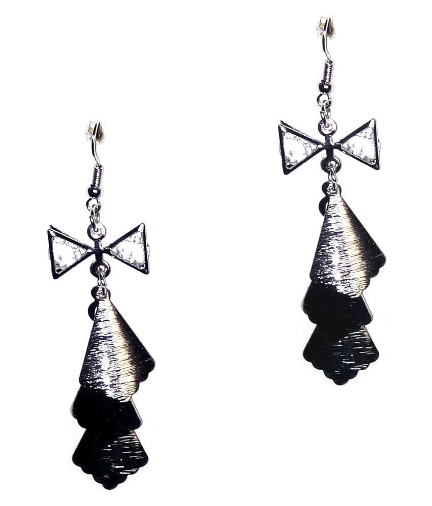 Fashionable SILVER  Earrings for women & Girls by shrungarika
