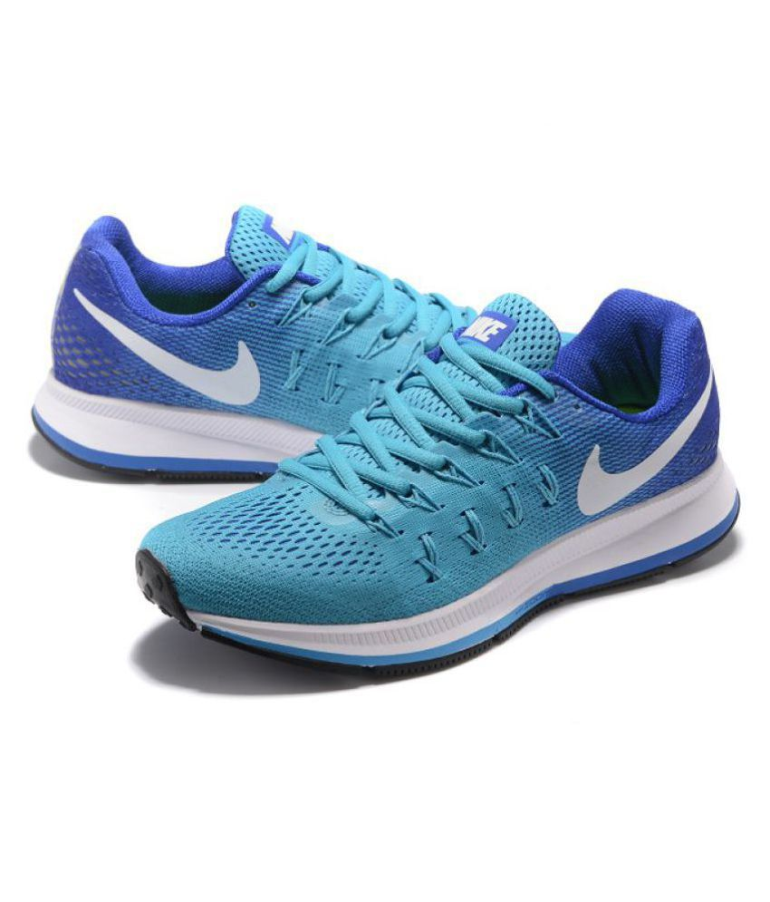 nike air nike pegasus 33 sky blue running shoes buy nike. Black Bedroom Furniture Sets. Home Design Ideas