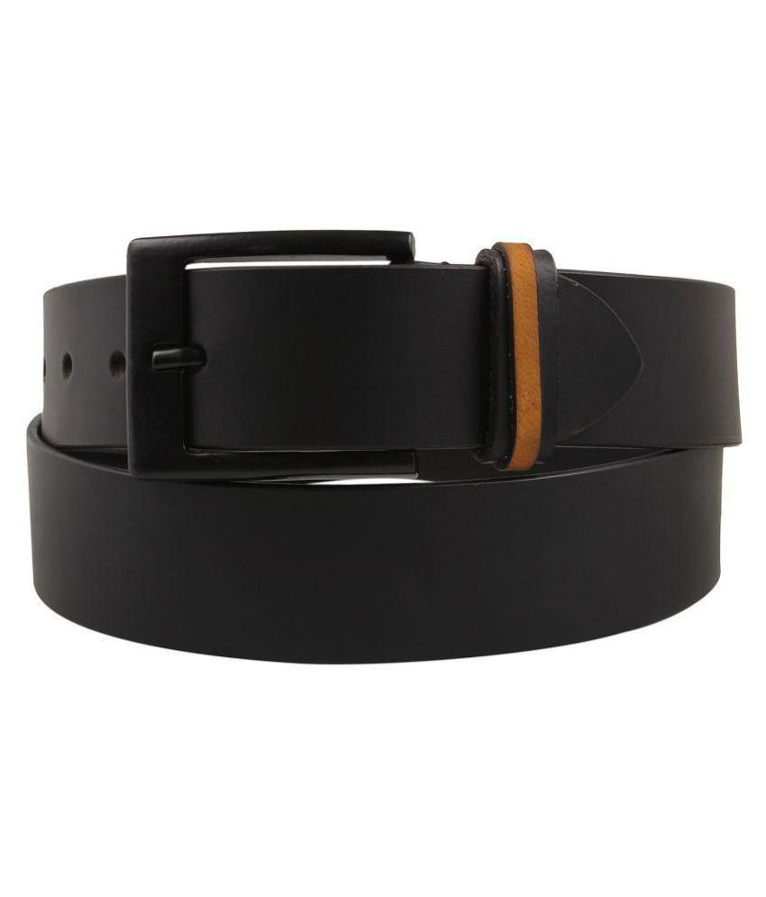 Aditi Wasan Black Leather Formal Belts