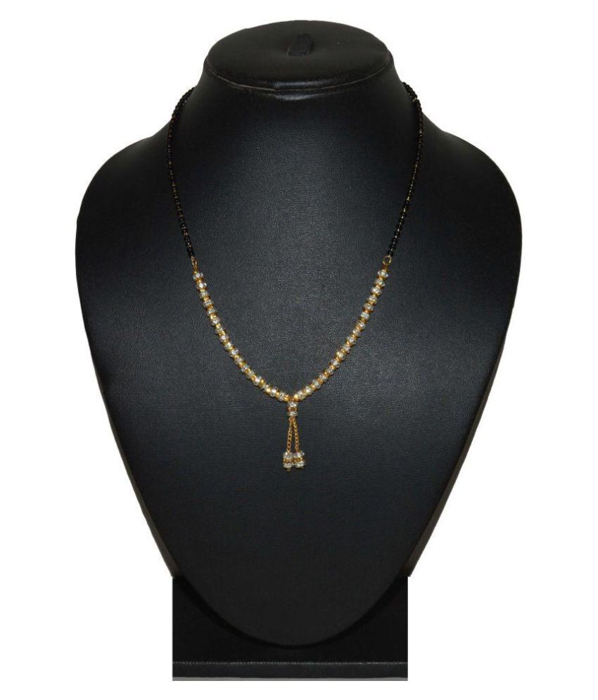 Fabzeel Golden Designer 18 Inch Mangalsutra