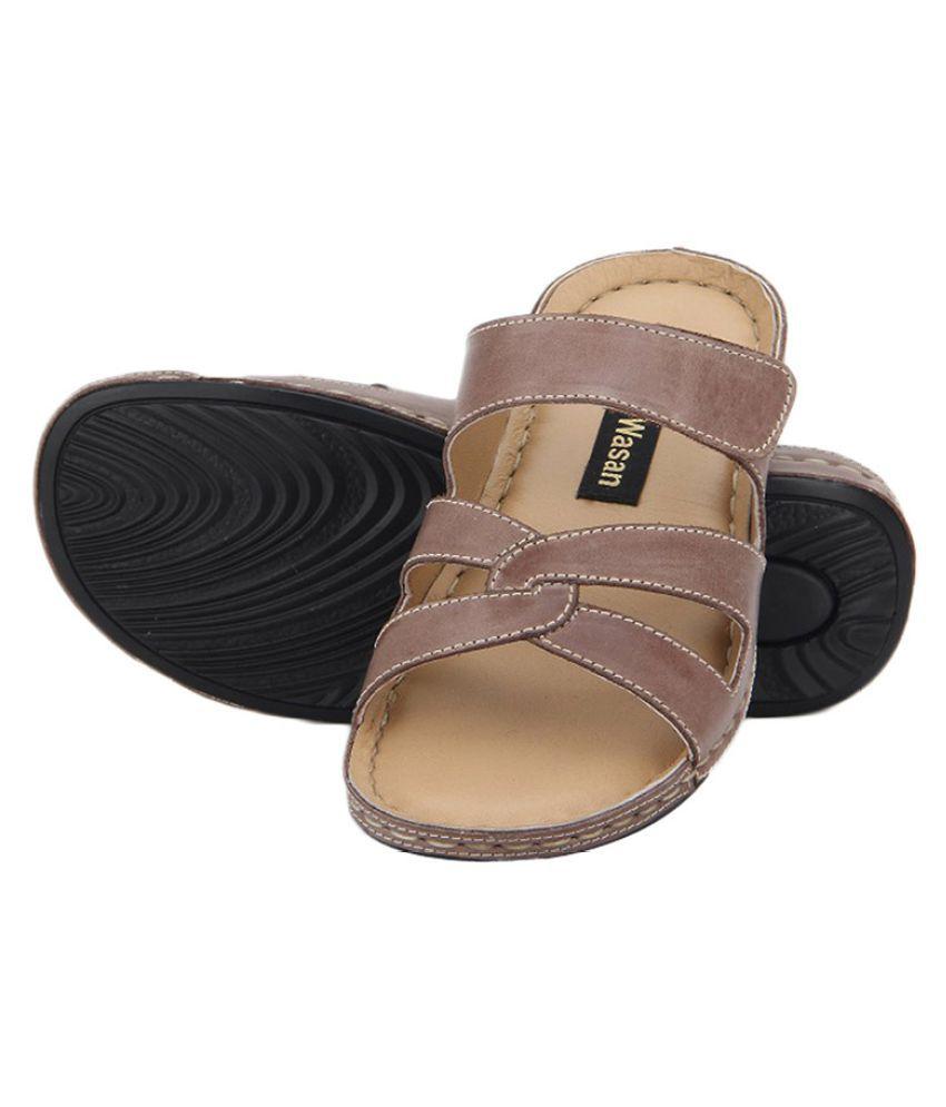 Aditi Wasan Brown Slippers