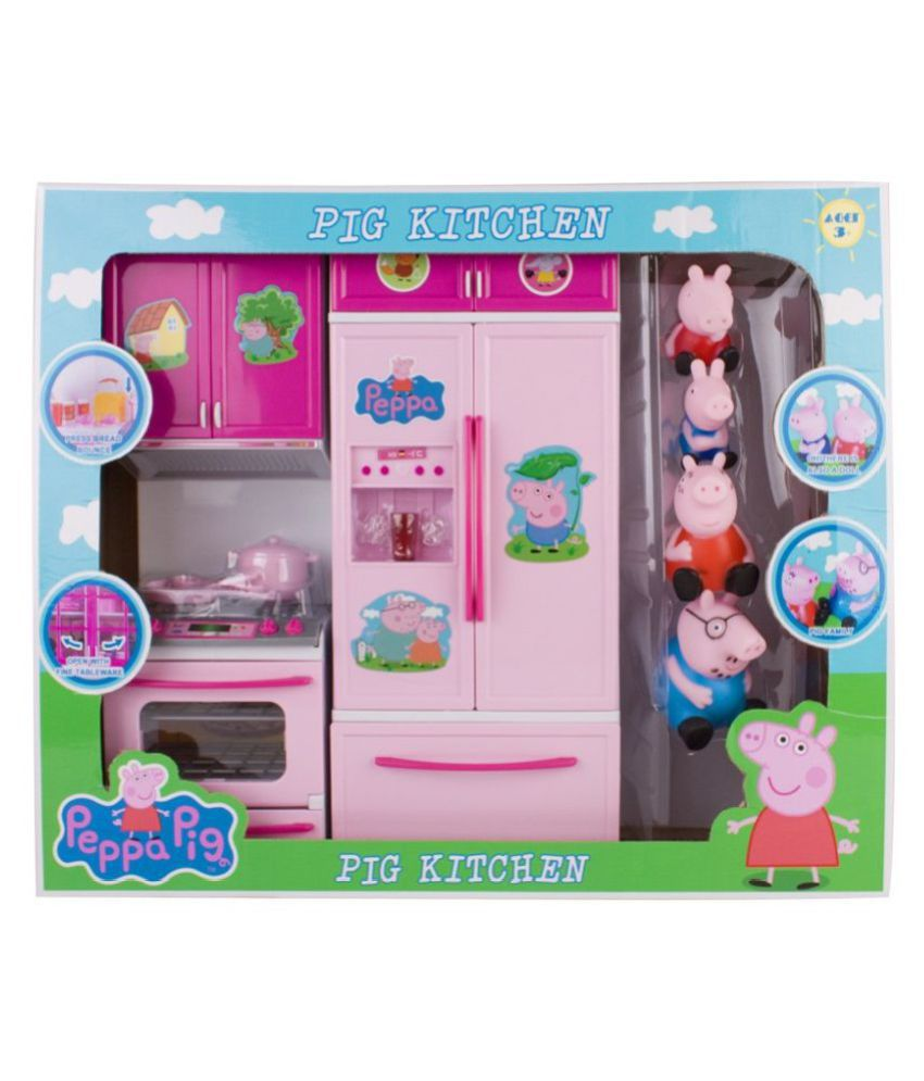 New Peppa Pig Kitchen Set Toy Buy New Peppa Pig Kitchen