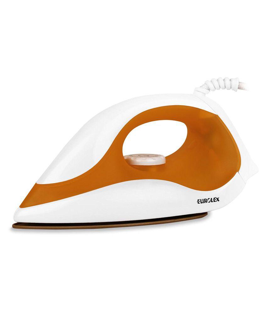 Eurolex EI1109-1000Wt Dry Iron Orange