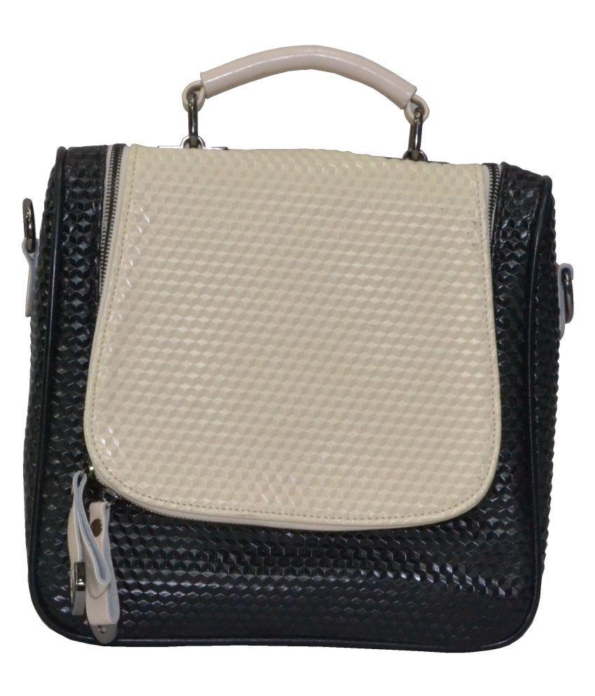 Senora Black P.U. Backpack
