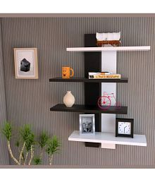 floating shelves buy floating shelves online at best prices in rh snapdeal com