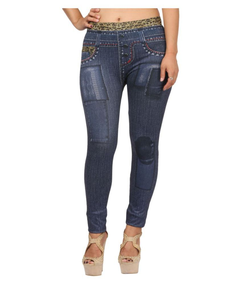 Fit 'N' You Poly Viscose Jeggings