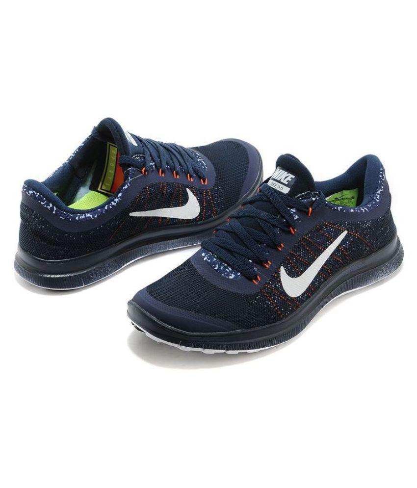 420faaf3949e Nike 1 3.0 Navy Running Shoes ... Nike Free ...