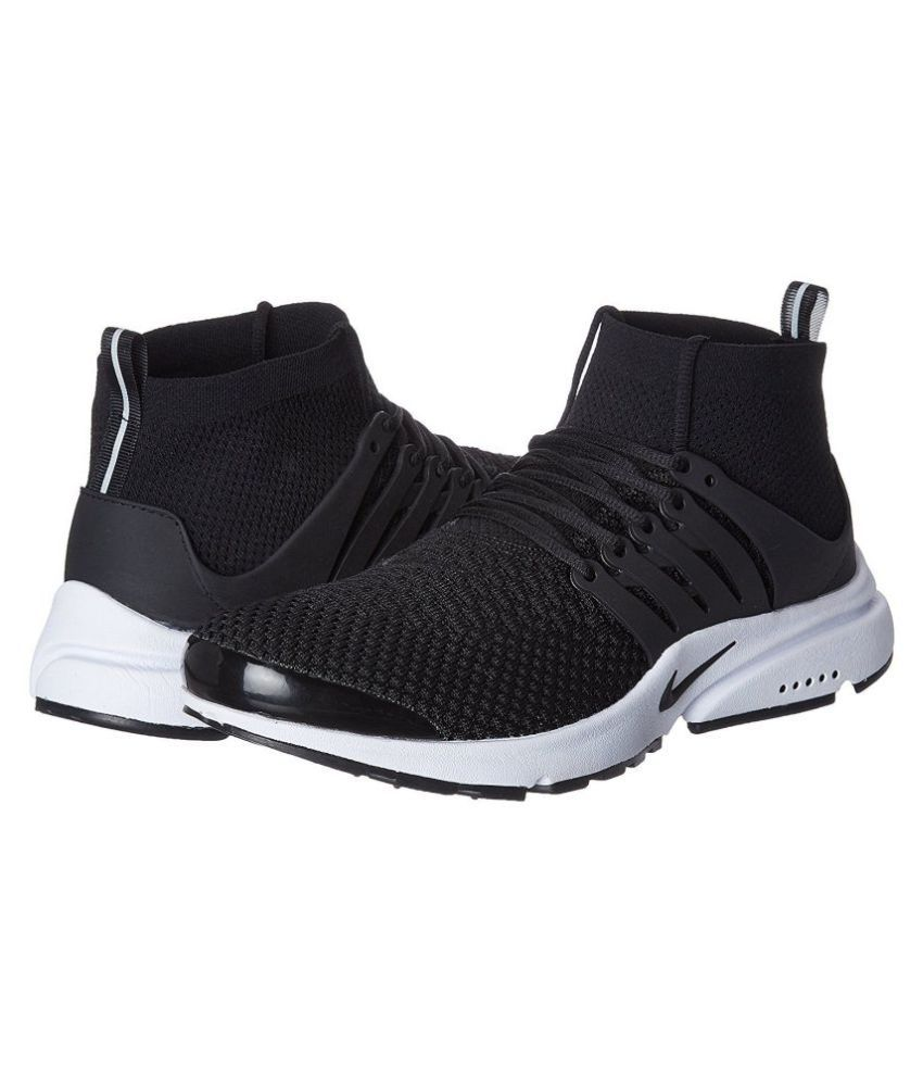 9e7a58c9cf01f Nike Air Presto Black Running Shoes - Buy Nike Air Presto Black Running  Shoes Online at Best Prices in India on Snapdeal