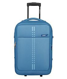 Safari Blue S (Below 60cm) Cabin Soft Rail 2W Luggage