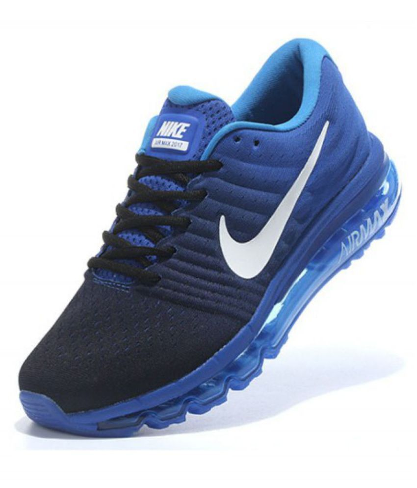 Nike Airmax 2017 Blue Running Shoes - Buy Nike Airmax 2017 Blue Running  Shoes Online at Best Prices in India on Snapdeal 3b03f350b