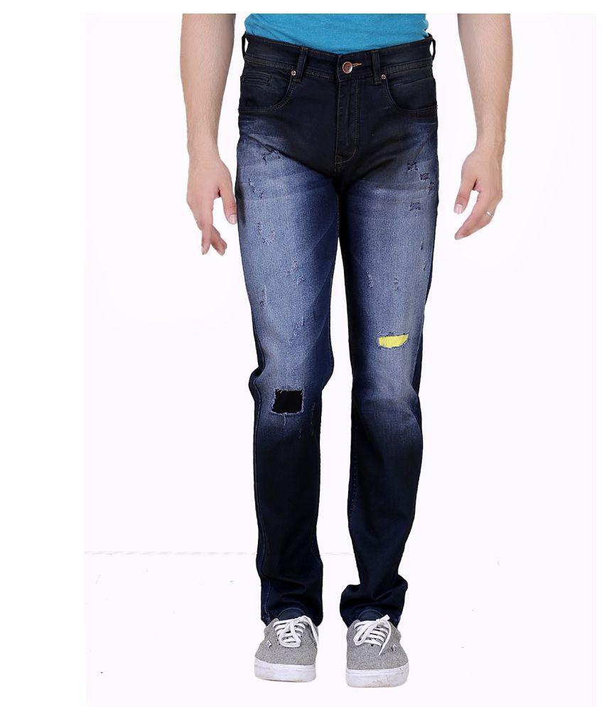 REALM Dark Blue Slim Jeans