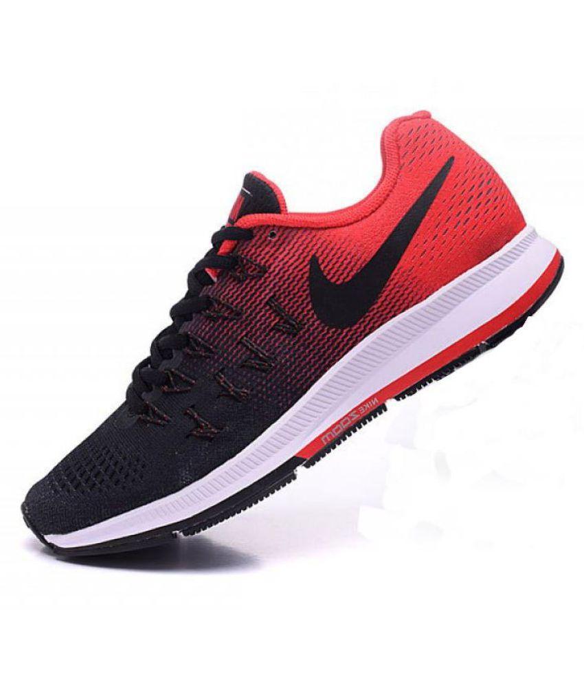 nike air pegasus 33 black red running shoes buy nike air