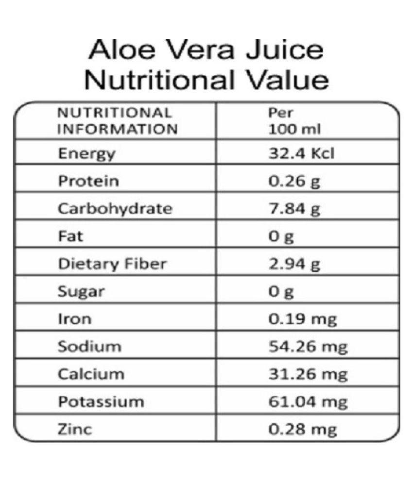 MEDISYS Aloe Vera Juice - Pack of 3- Health Drink 750 ml Pack of 3
