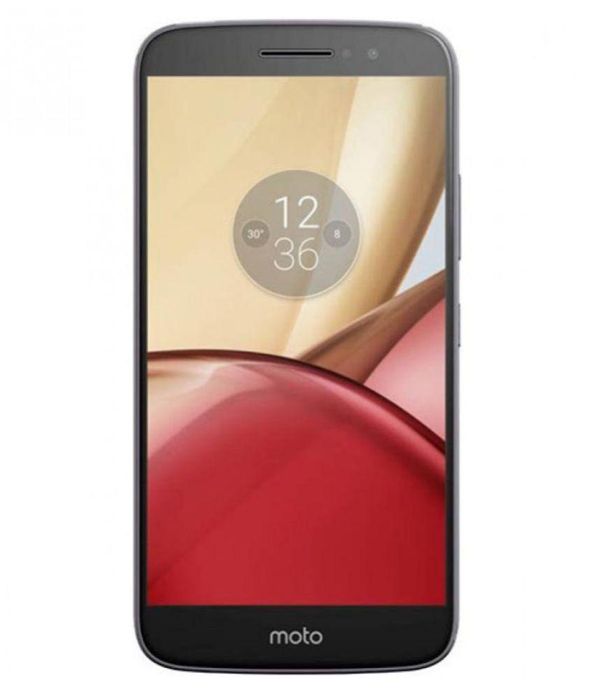 Motorola Moto M ( 64GB , 4 GB ) Grey