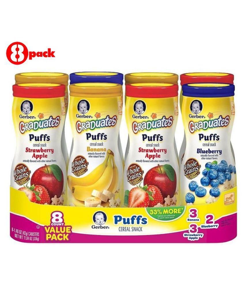 Gerber Assorted Snack Foods for 12 Months + ( 336 gm )