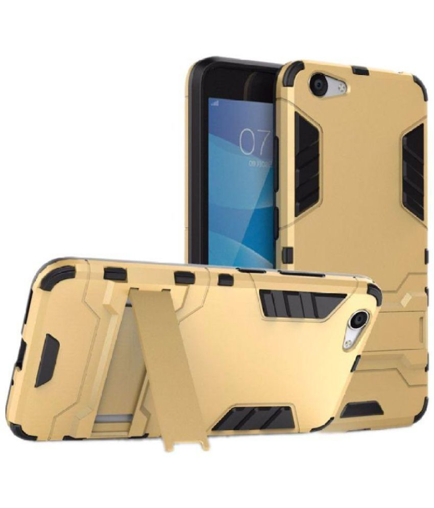 Vivo Y53 Anti Gravity Cover accesories legacy - Golden