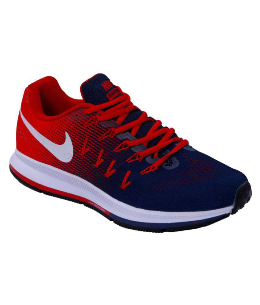 5812251247f8 Nike AIR ZOOM PEGASUS 33 Multi Color Running Shoes available at SnapDeal  for Rs.2988