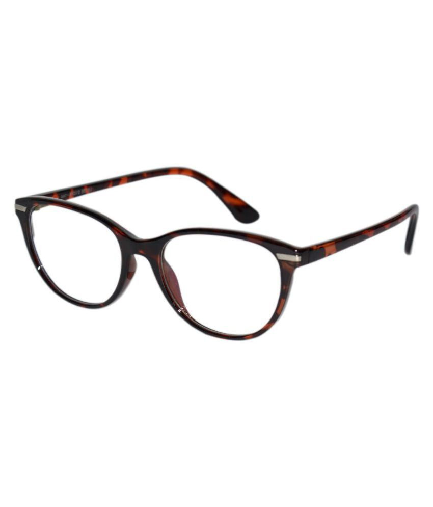 Peter Jones Brown Cateye Spectacle Frame 6138DA