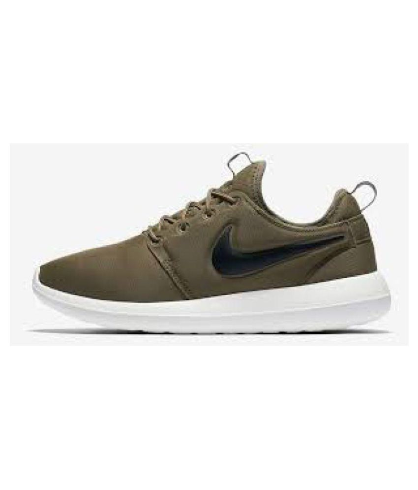 hot sale online cf4ed aa56e Nike Roshe 2 Khaki Casual Shoes - Buy Nike Roshe 2 Khaki Casual Shoes  Online at Best Prices in India on Snapdeal