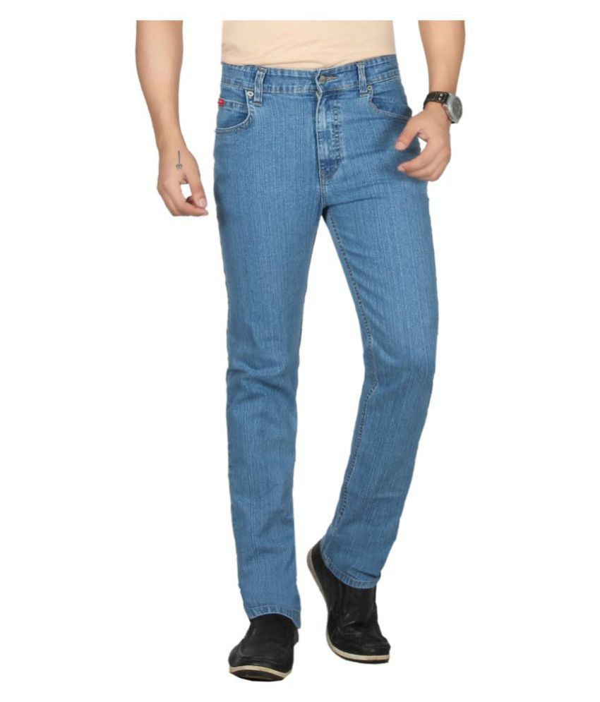Dare Light Blue Regular Fit Jeans