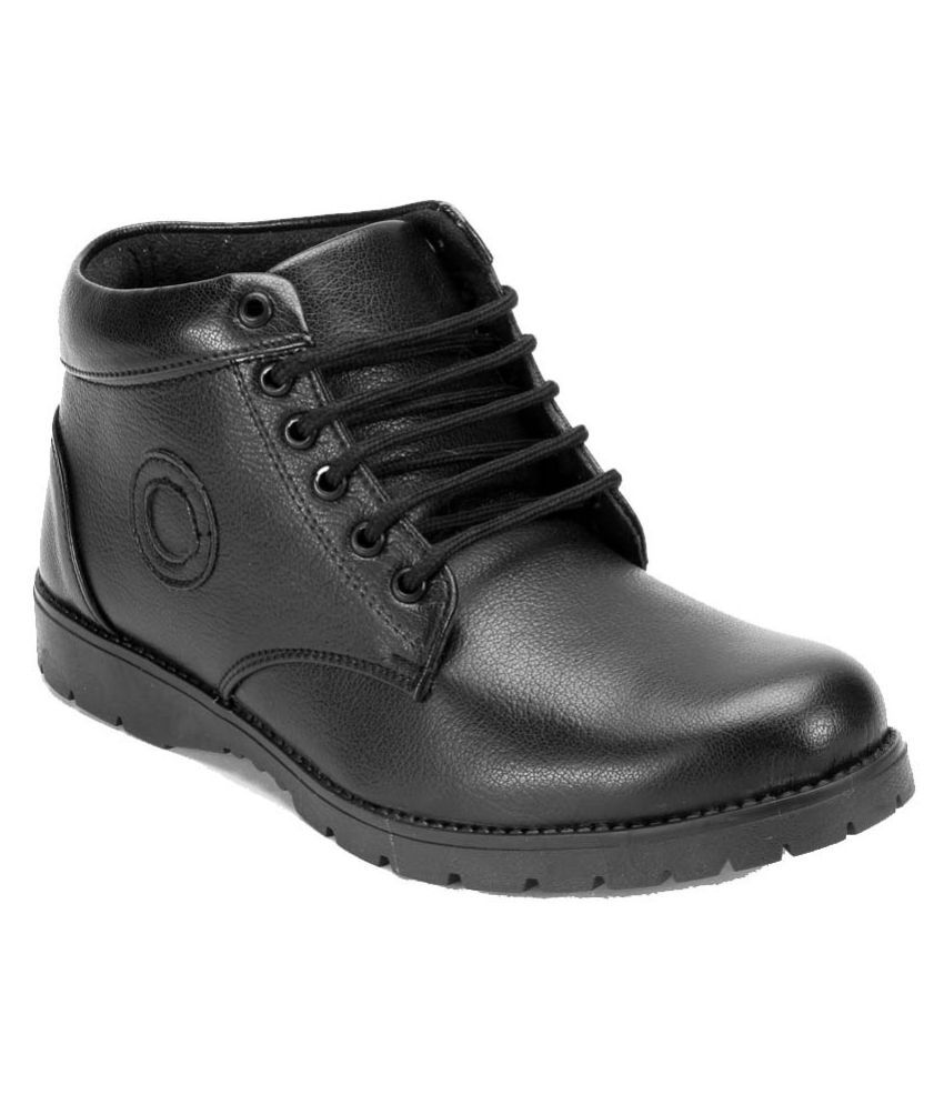 Catbird Black Casual Boot