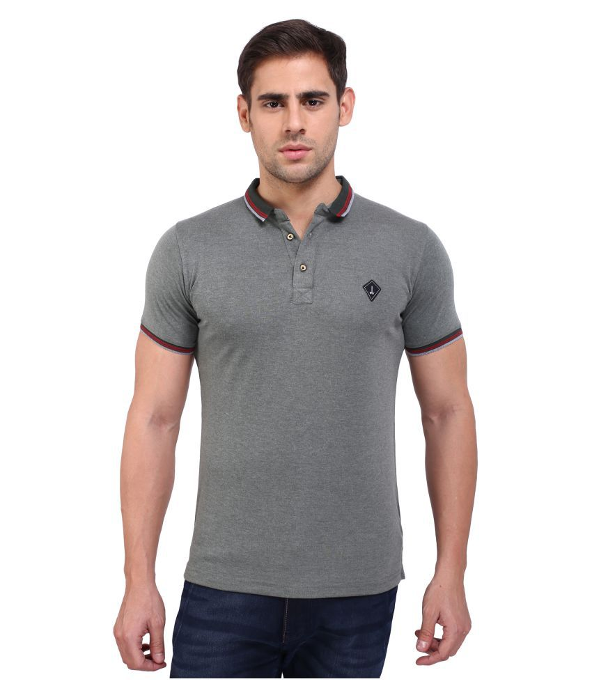 Daagwood Grey Round T-Shirt