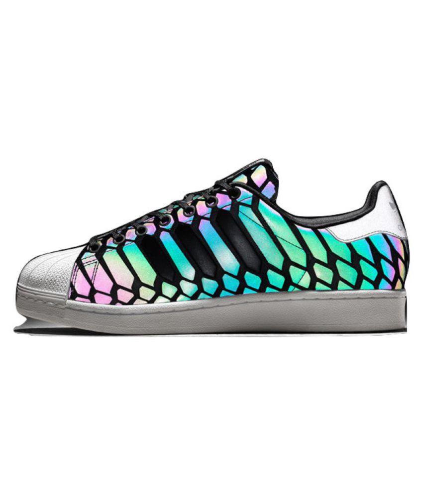 6ed4add0e Adidas Superstar Xeno Glow In Dark Sneakers Multi Color Casual Shoes ...