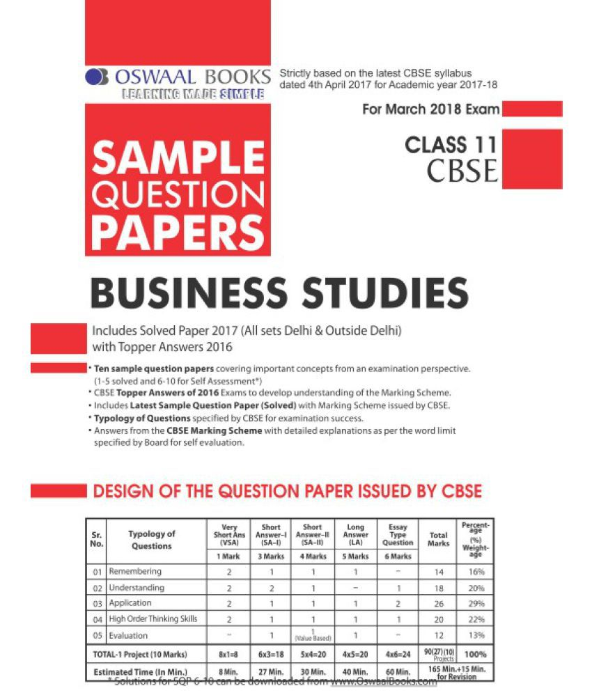 business studies grade 11 exam papers march