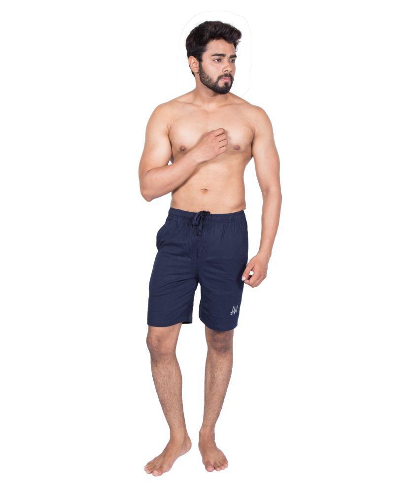 27Ashwood Navy Shorts