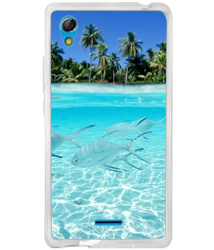 Gionee P5 Mini Printed Cover By instyler