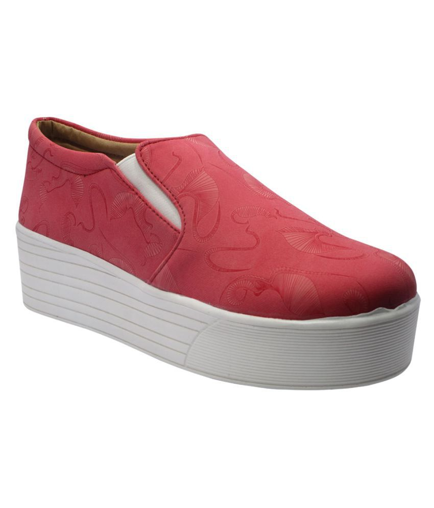 Sammy Red Casual Shoes