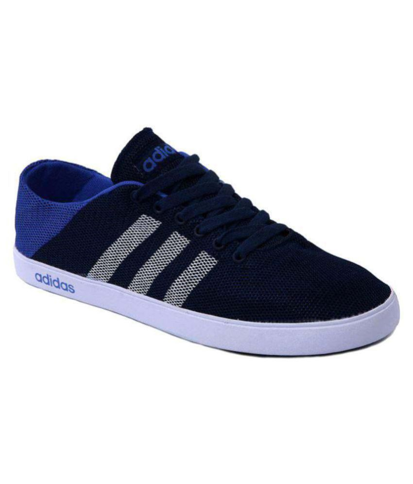 Adidas Neo 1 Blue Casual Shoes - Buy Adidas Neo 1 Blue Casual Shoes ... 4e64f6a82715