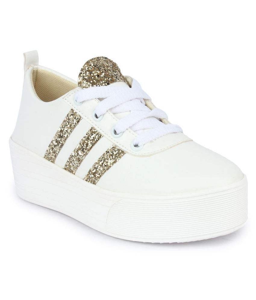 really cheapest price online Do Bhai White Sneakers outlet SVh8rG