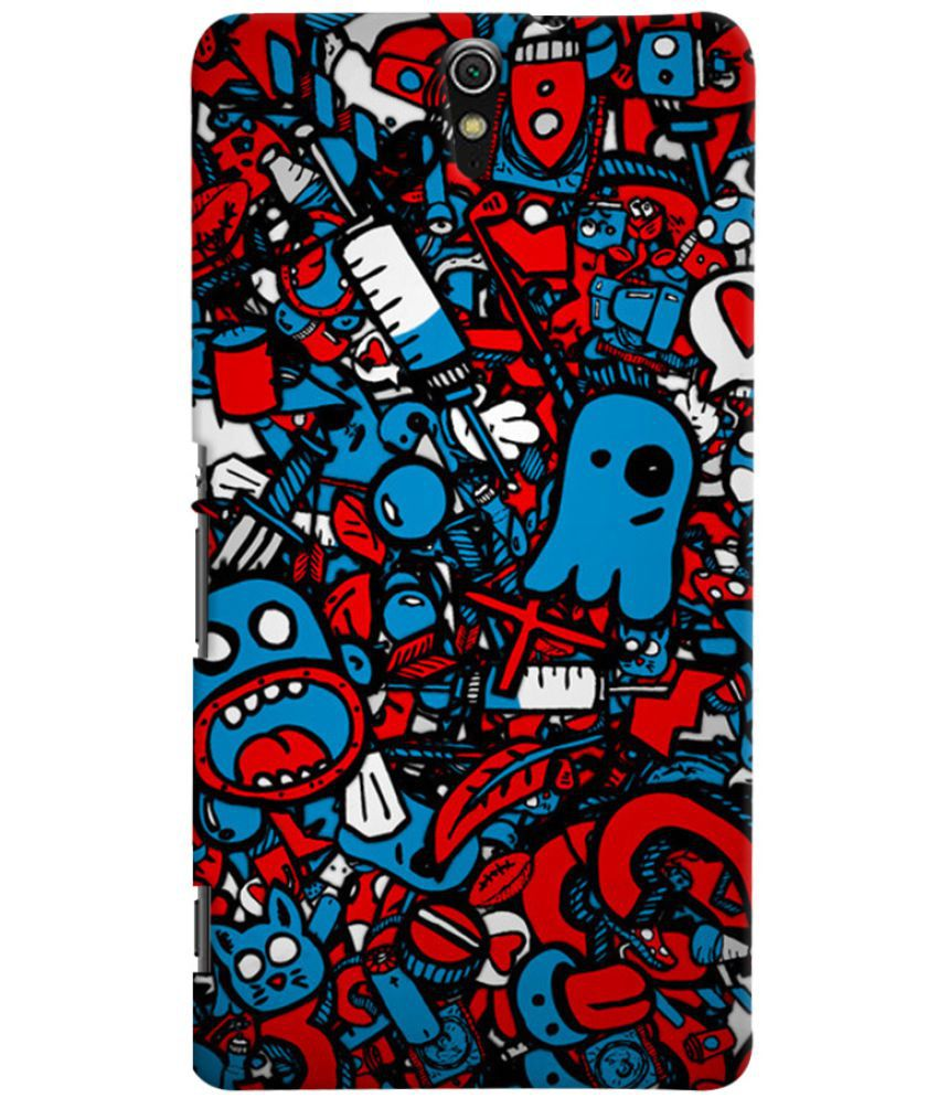 Sony Xperia C5 Printed Cover By Case King