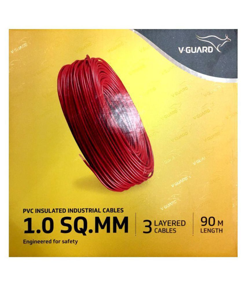 Buy VGUARD House Wire 1 Core 1 Sqmm Online at Low Price in India ...