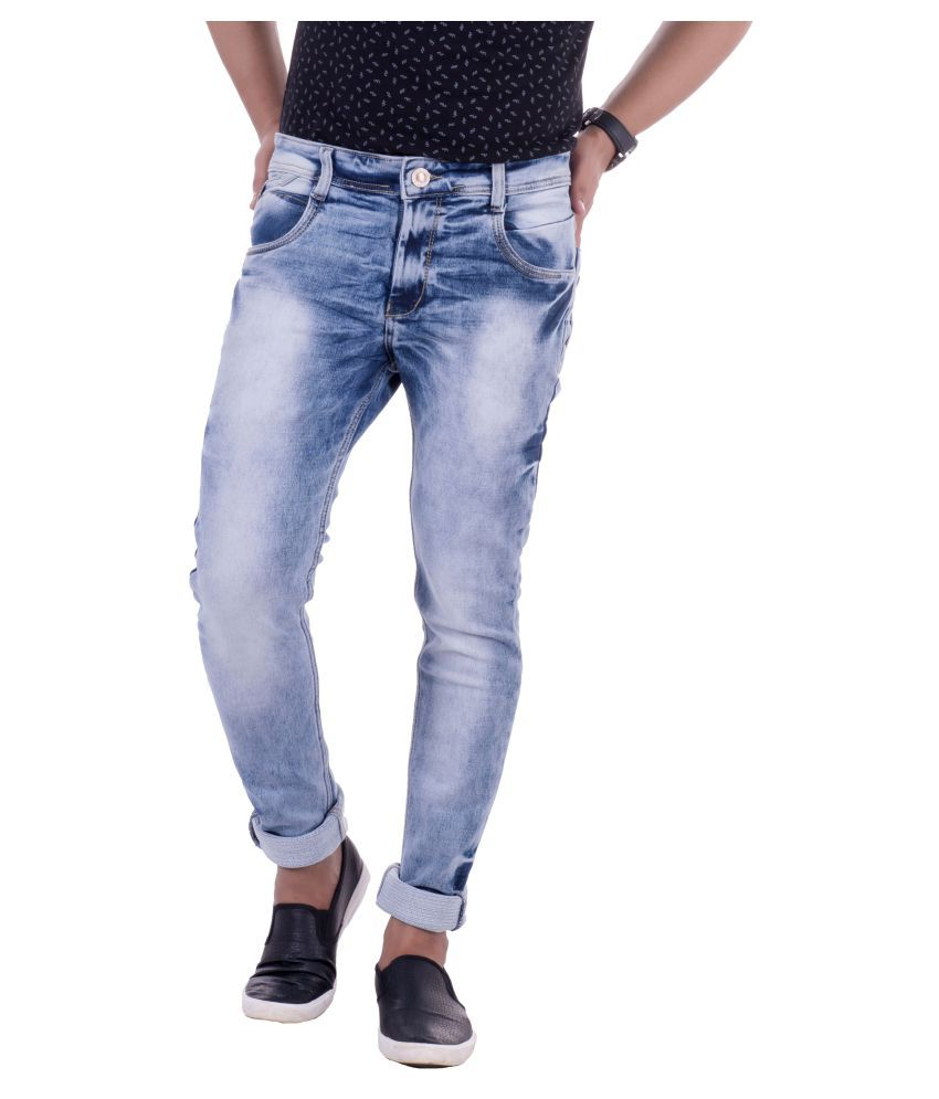 Lobstar Blue Slim Jeans