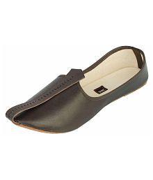 Juta & Kassa Black Designer Shoe