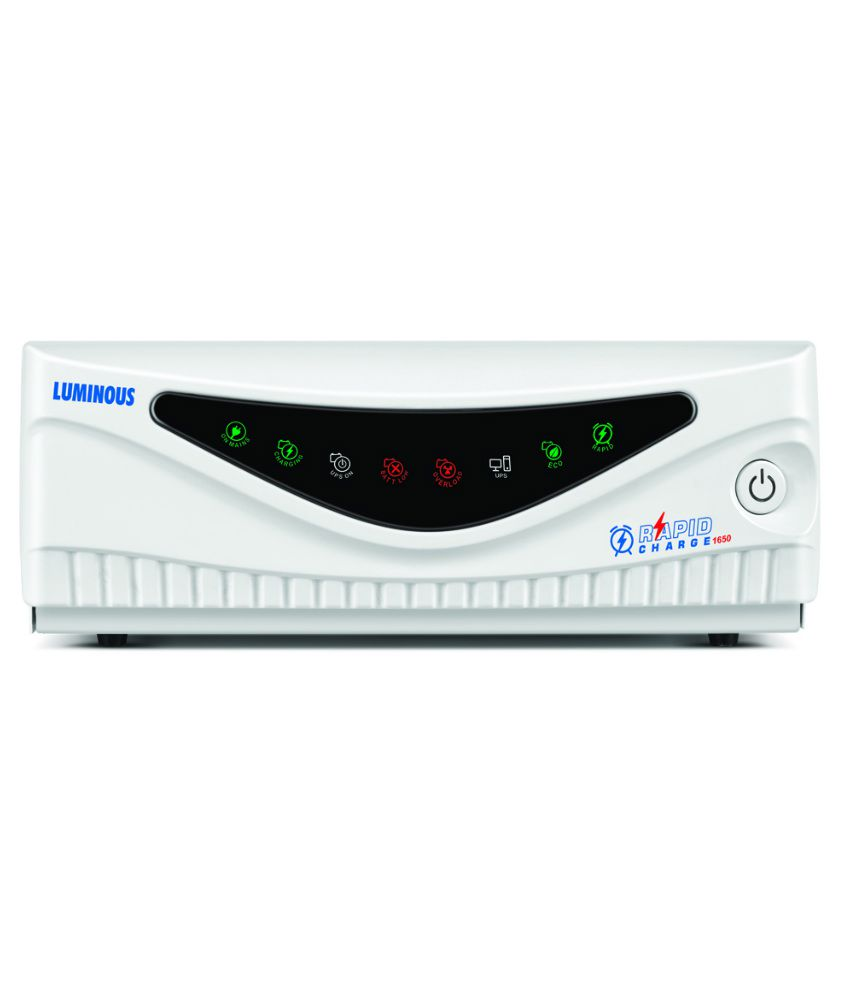 Luminous Rapid Charge 1650 Square Wave Home Ups Price In India Buy