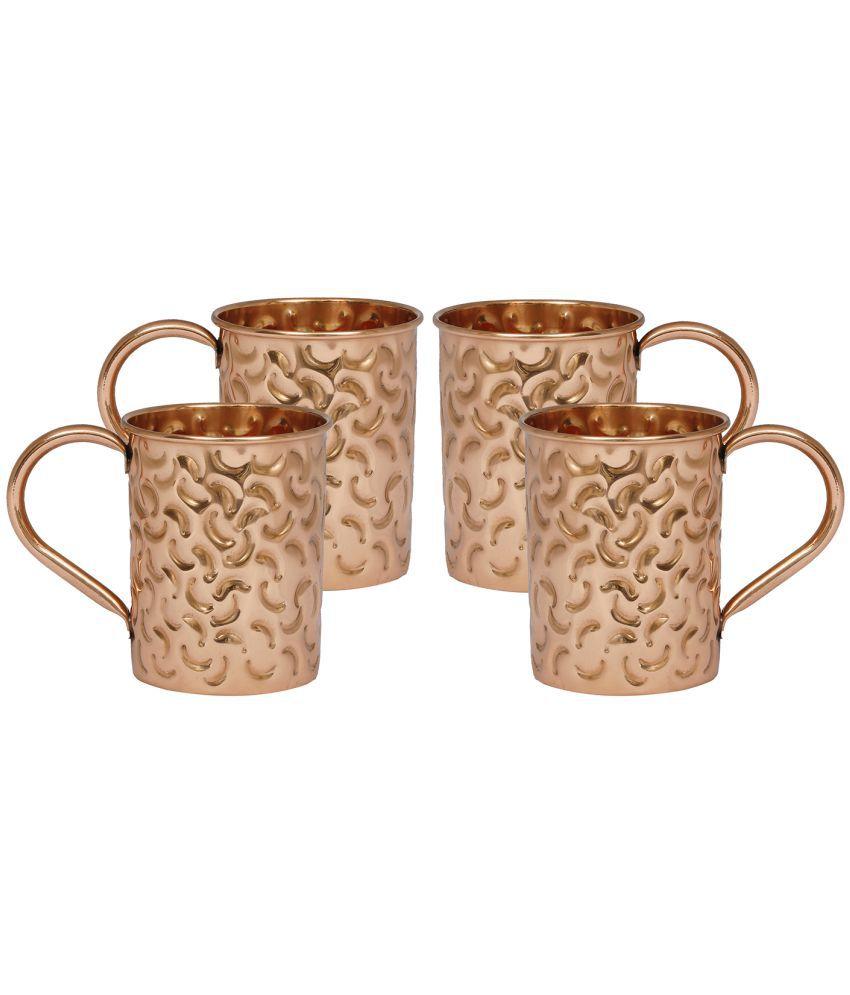 INNOVATIVE ART 4 Pcs Copper Bar set: Buy Online at Best ...