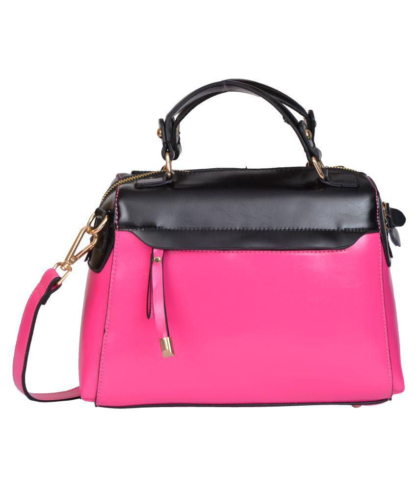 Fiona Trends Pink P.U. Handheld