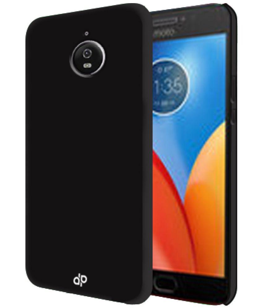 Motorola Moto E4 Plus Plain Cases Cell First - Black