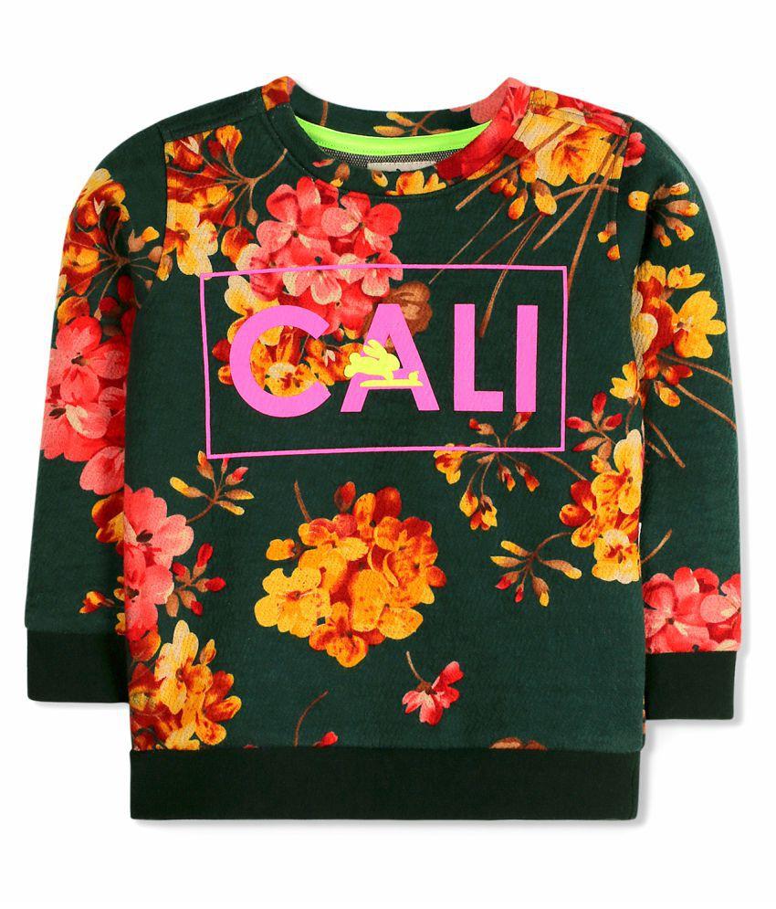 Cherry Crumble Cali Floral Sweatshirt